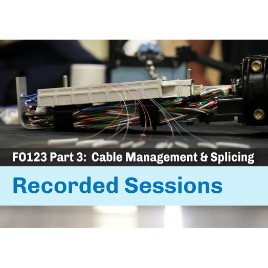 Cable Management and Splicing